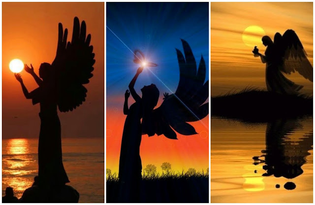 Choose One Angel Silhouette And Receive Your Spiritual Message! 1