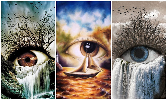 Choose An Eye And Get An Important Message! 1