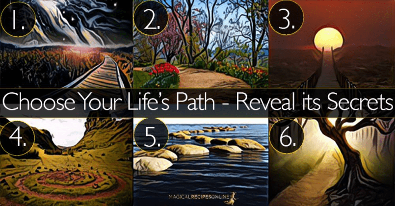 This simple 2 minute life path test, will reveal your hidden life philosophy 1