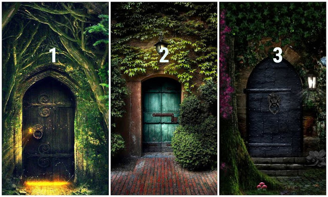 Choose One Door That Attracts You The Most, And Find Out Your Personality Traits! 1