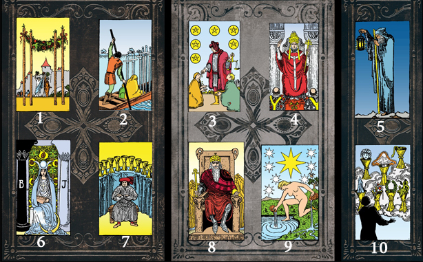 Choose Five Tarot Cards To Reveal Information About Your Current Situation! 1