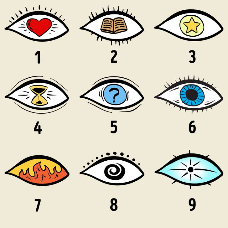 Choose an Eye and See The Hidden Secrets Of Your Personality! 1