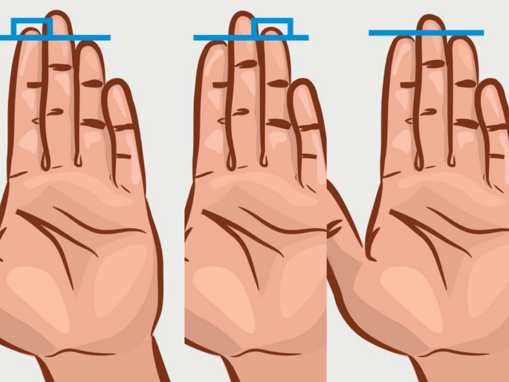 Secret Things Your Finger Length Could Say About Your Personality 1