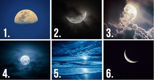 Select a Moon! It'll Reveal Your Hidden Thoughts... 1