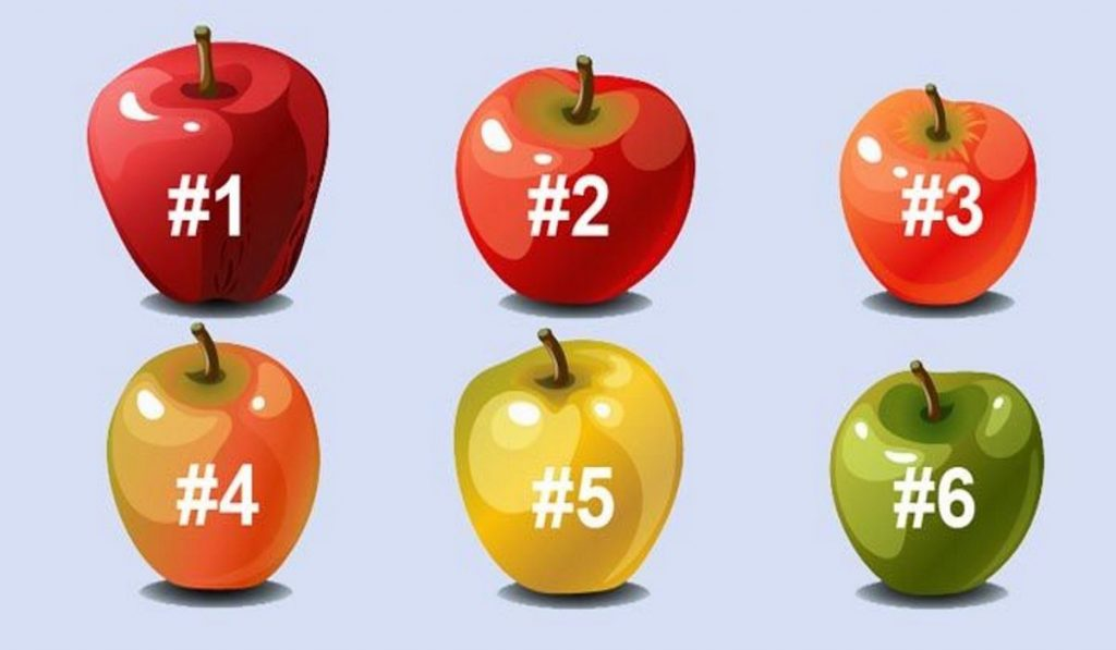 Choose a Apple and We'll Let You Know a Secret About Your Personality! 1