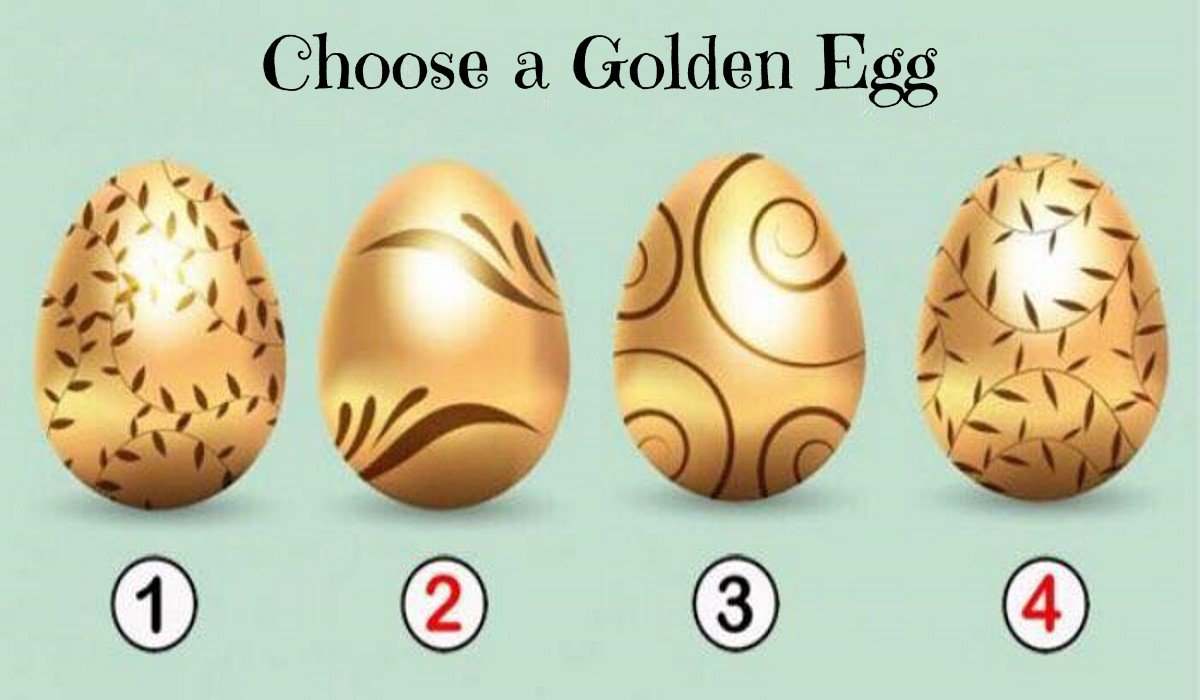 Pick the Golden Egg that You Prefer,  Discover the Precious Message for You!