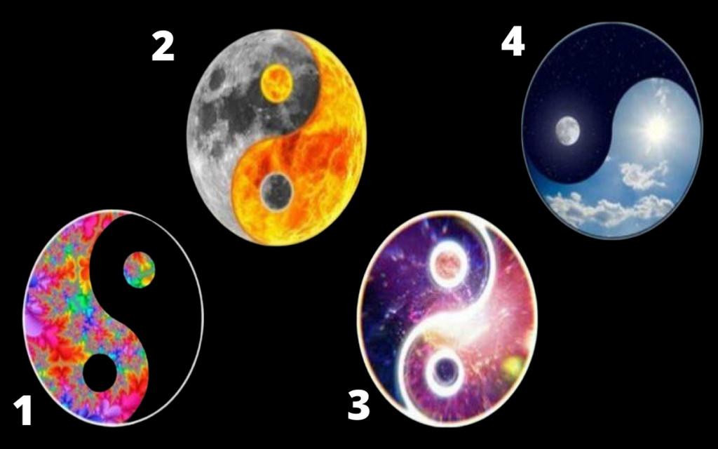 Choose Your Yin – Yang Symbol! It Reveals What Kind of Positive Vibrations Do You Have... 1