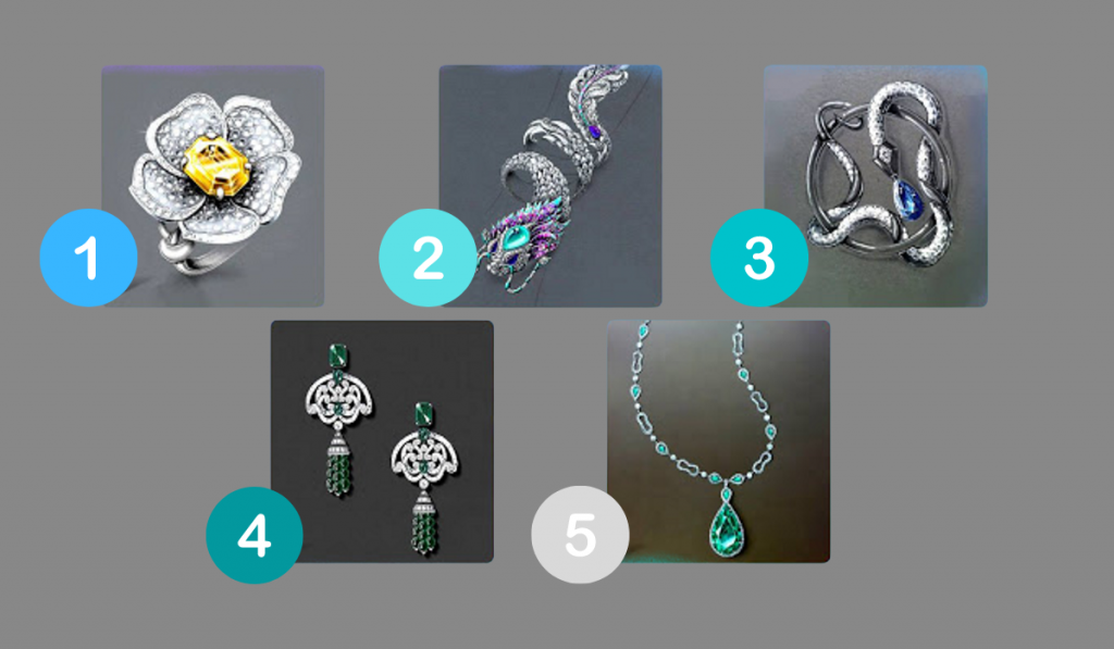 Select a Jewel - Find Out How Your Ideal Man Should Be: 1