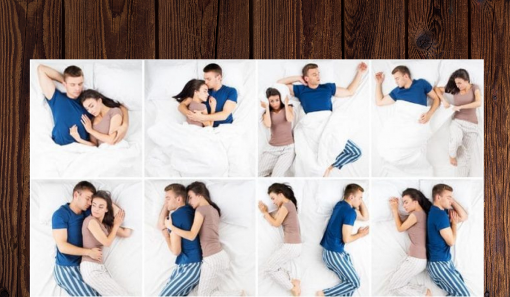 The Sleeping Position of a Couple Reveals a Lot About The Relationship! 1