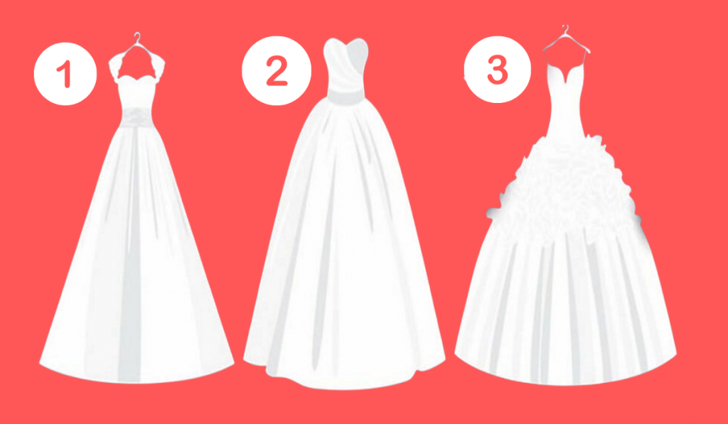What Is Your Favorite Wedding Dress? It Will Reveal Your Behavior Within a Relationship! 1