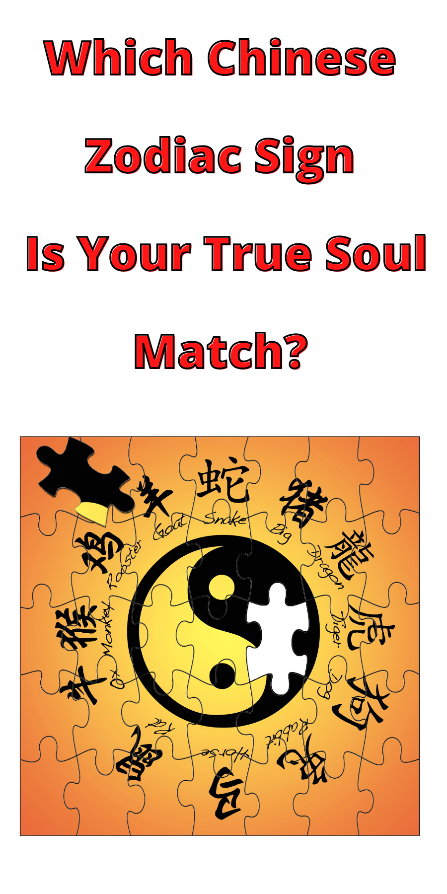 Which Chinese Horoscope Is Your True Soul Match? 1