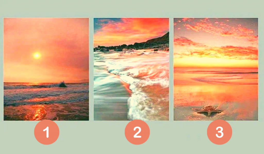 Choose a Sunset You Like! Discover What Will be Important to You Over the Next 3 days! 1