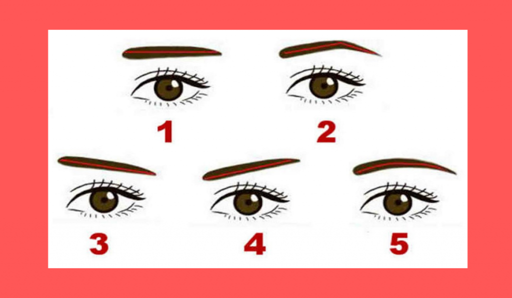 What the Shape of Your Eyebrows Can Say About You? - Test 1