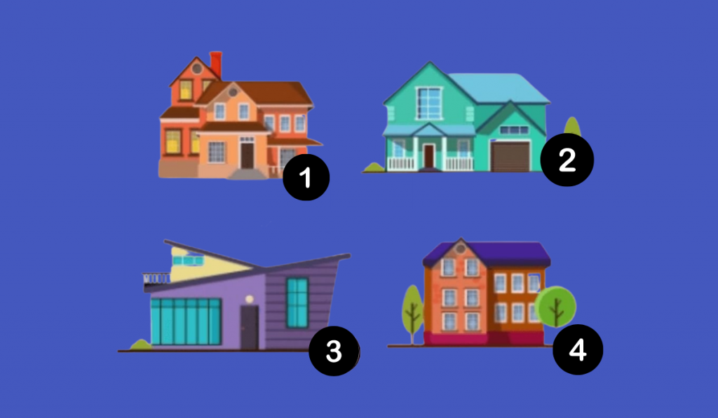 This Test Will Reveal What Kind of Partner You Need! In Which House Would You Choose to Live? 1