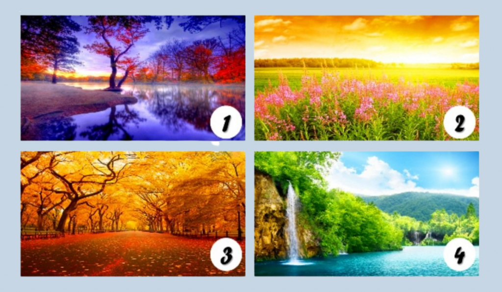 Pick Your Favorite Landscape and Be Amazed by its Wonderful Meaning! - Emotional Psychology 1