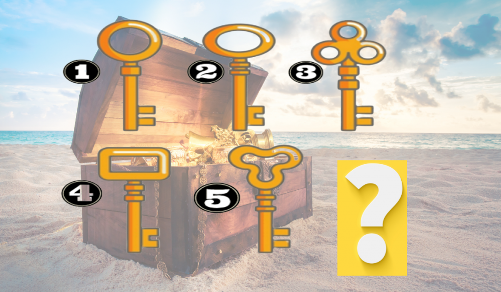Discover Something Interesting About Your Personality: Which Key Will You Open the Magic Trunk? 1