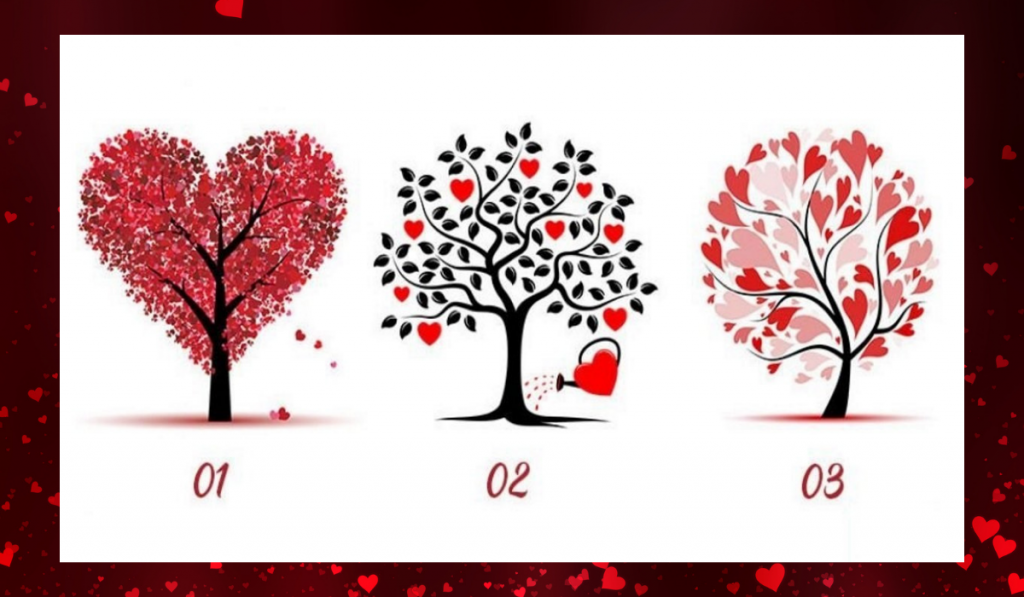 Choose a Love Tree! Find Out What Kind Of Man Suits You: 1