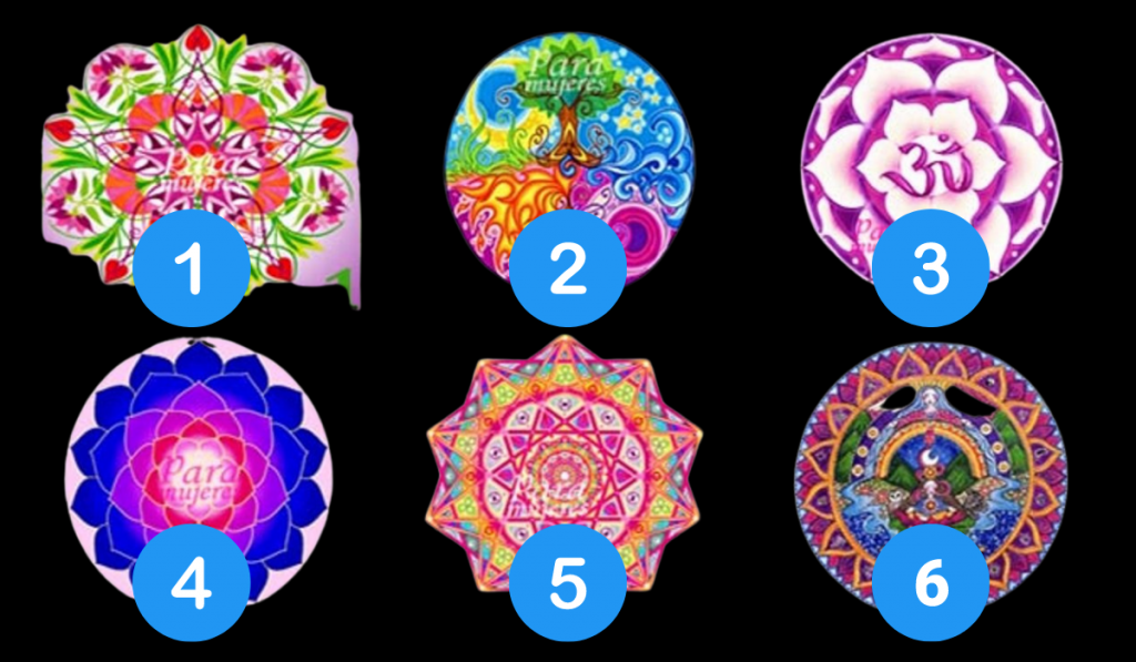 Choose a Mandala! It'll Reveal Important Aspects of Your Personality: 1
