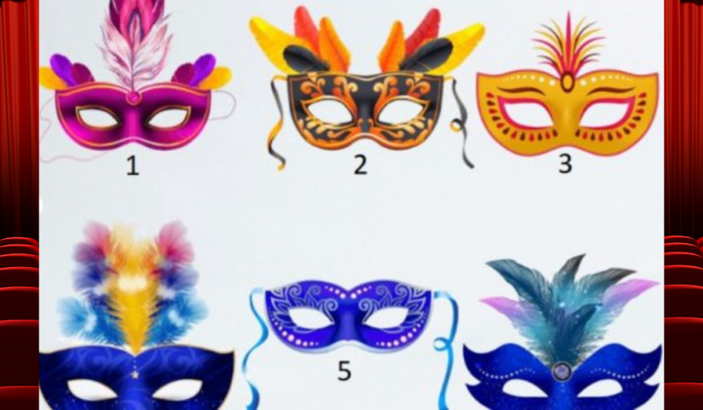 Which Mask Do You Choose? It Will Reveal a Huge Secret About You! 1