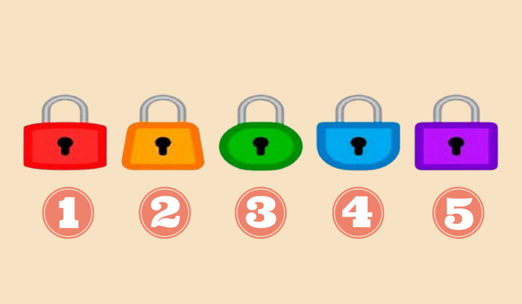 Select a Padlock: Dive Into the Depths of Your Subconscious... 1