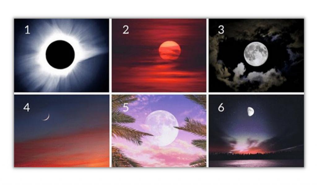 Choose a Moon! It Will Reveal Your Hidden Desires! 1