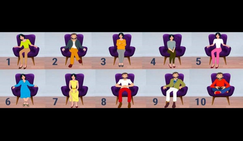 Test: What Can You Understand About a Person by the Way They Sit? 1