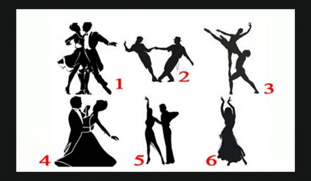 Select a Dancing Couple - Discover What Kind of Relationship You Need! 1