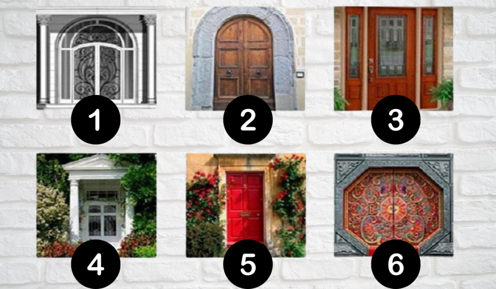 ChooseYour Favorite Door! Find Out Impressive Facts About Yourself: 1