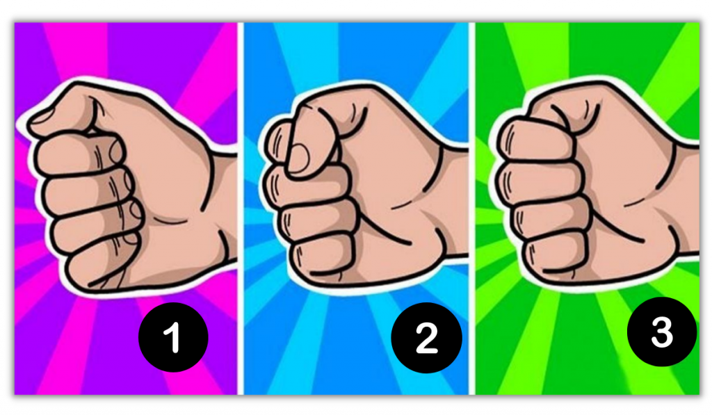 How You Clench Your Fist? It Will Reveal So Much About Your Personality: 1