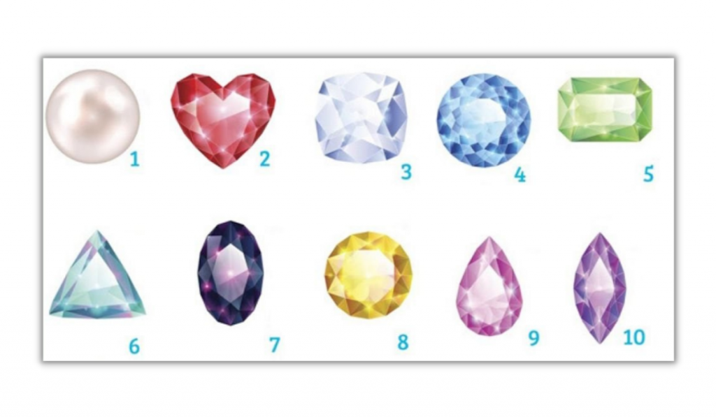 Choose a Gemstone! It Will Reveal Your True Personality: 1